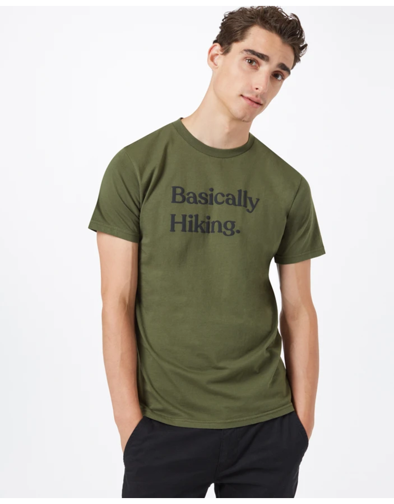 10 Tree Basically Hiking Tee - Olive