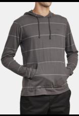 RVCA PTC Stripe Hoodie - Charcoal