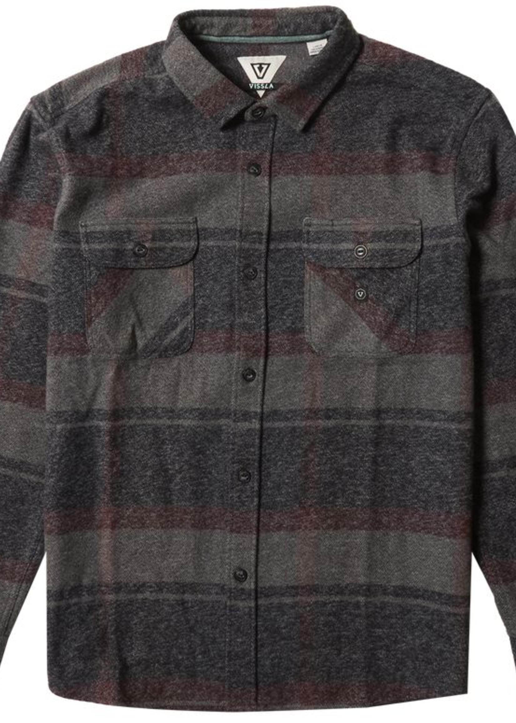 Vissla Barns L/S Flannel - Black