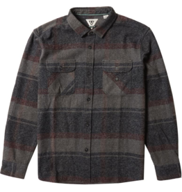 Vissla Barns L/S Flannel - Black