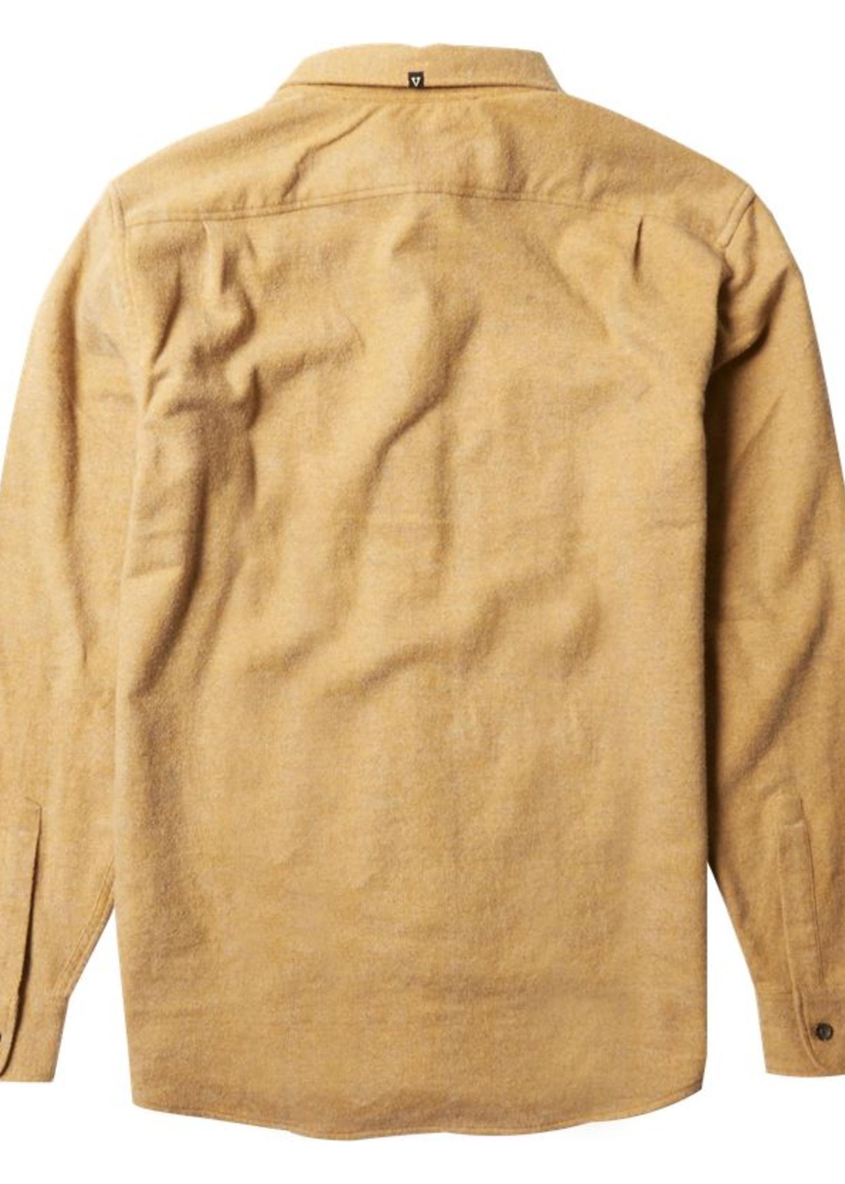 Vissla Shaver Flannel - Gold