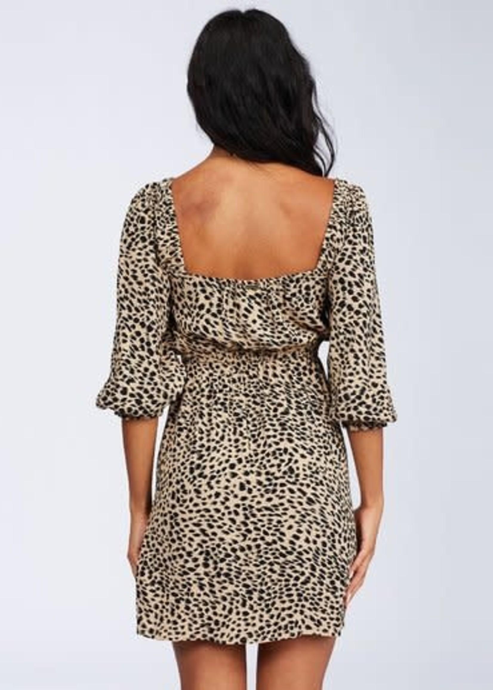 Billabong Riviera Mini Dress - Leopard