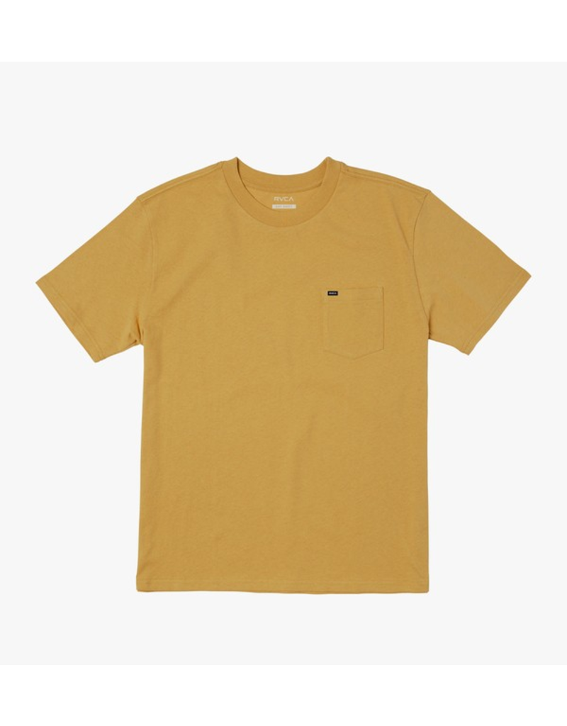 RVCA Solo Label SS Tee - Honey Mustard