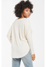 Z Supply Calli Rib Cardigan - Bone