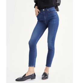 7 for All Mankind High Waist Ankle Skinny - Catalina