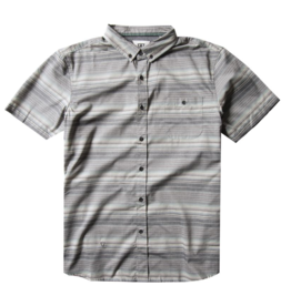 Vissla Sprays Eco SS Shirt - Grey Stripe