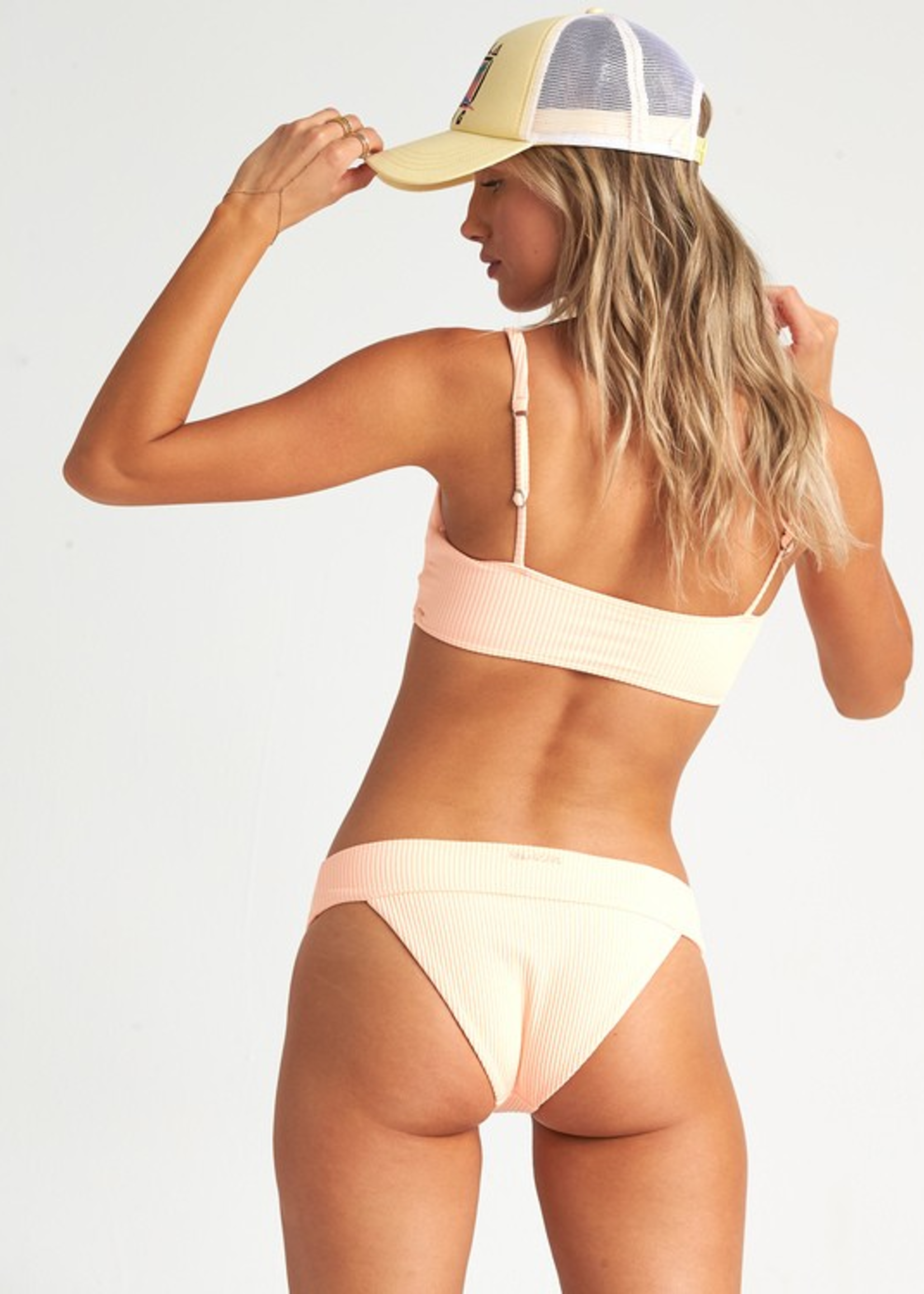 Billabong Under the Sun Top - Neon Peach