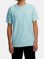 RVCA Textured Tee - Ice Blue