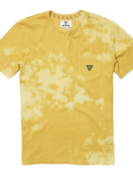 Vissla Capsized Bleach Wash Tee - Yellow