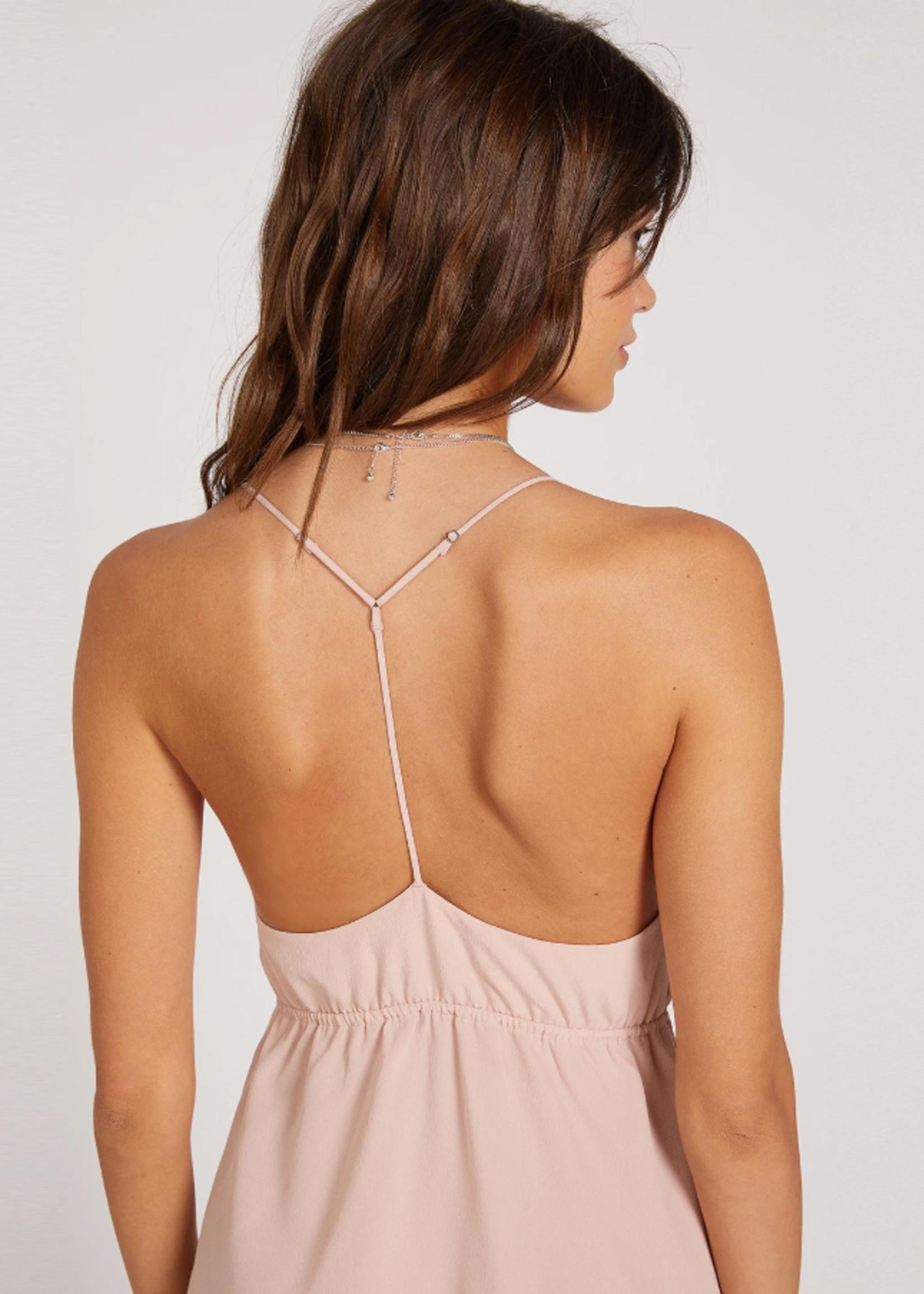 Volcom Wrap Goddess Dress - Pink