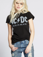 Recycled Karma AC DC Back in Black - Black
