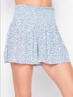 Rayon Shorts - Blue