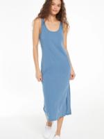 Z Supply Cabana Slub Tank Dress - Washed Blue
