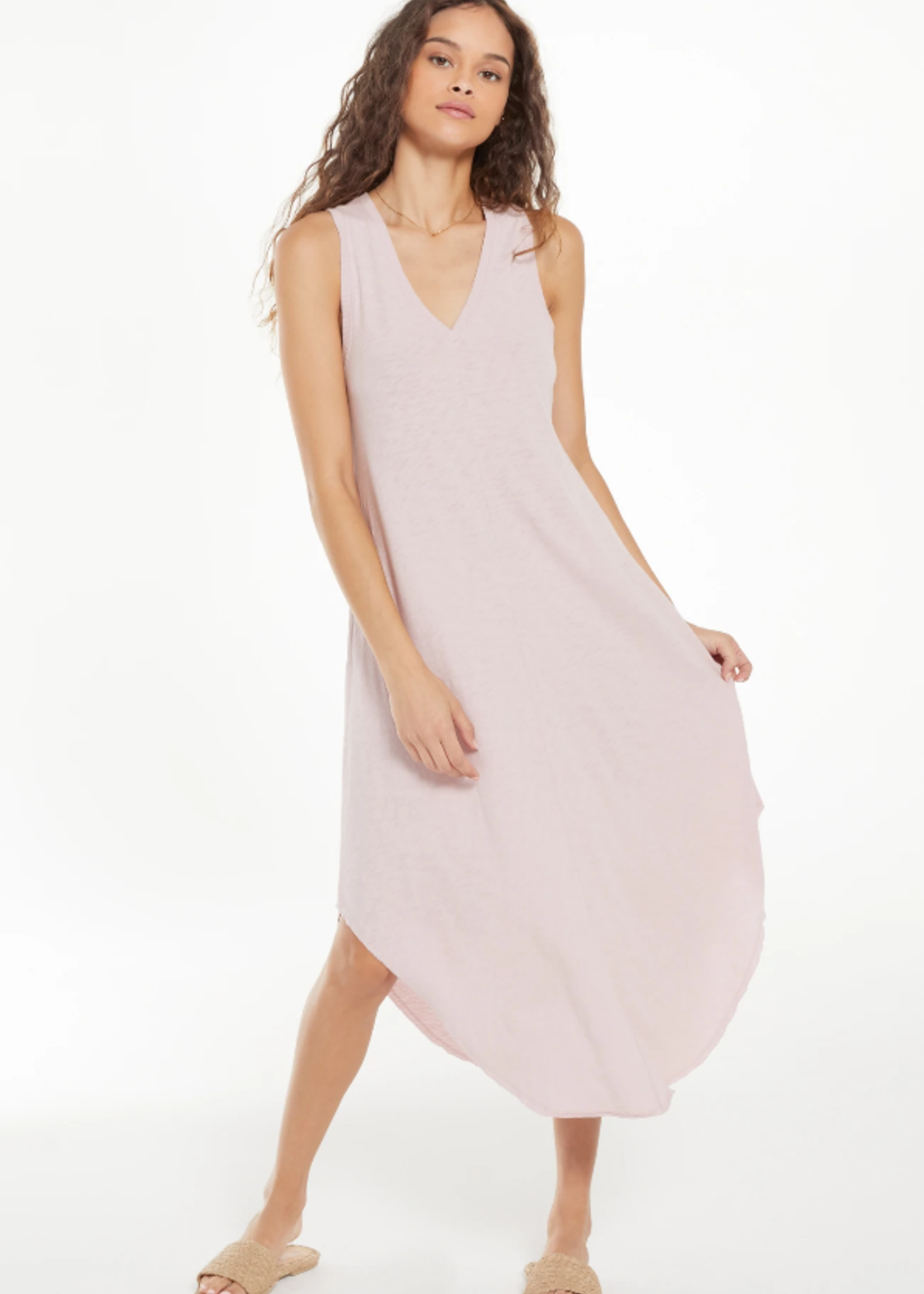 Z Supply Reverie Dress - Lilac