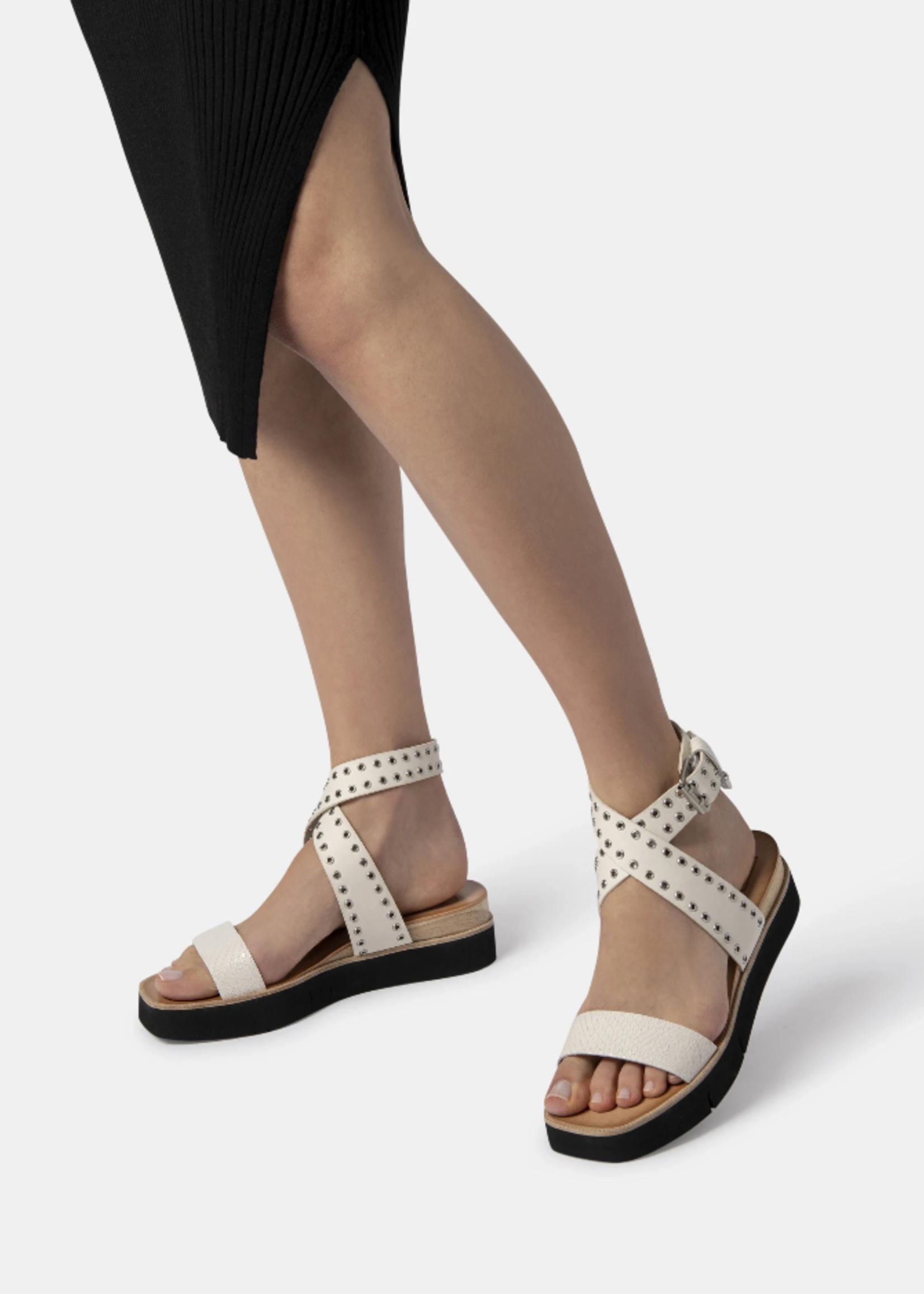 Dolce Vita Panko - Embossed Leather Stud - White