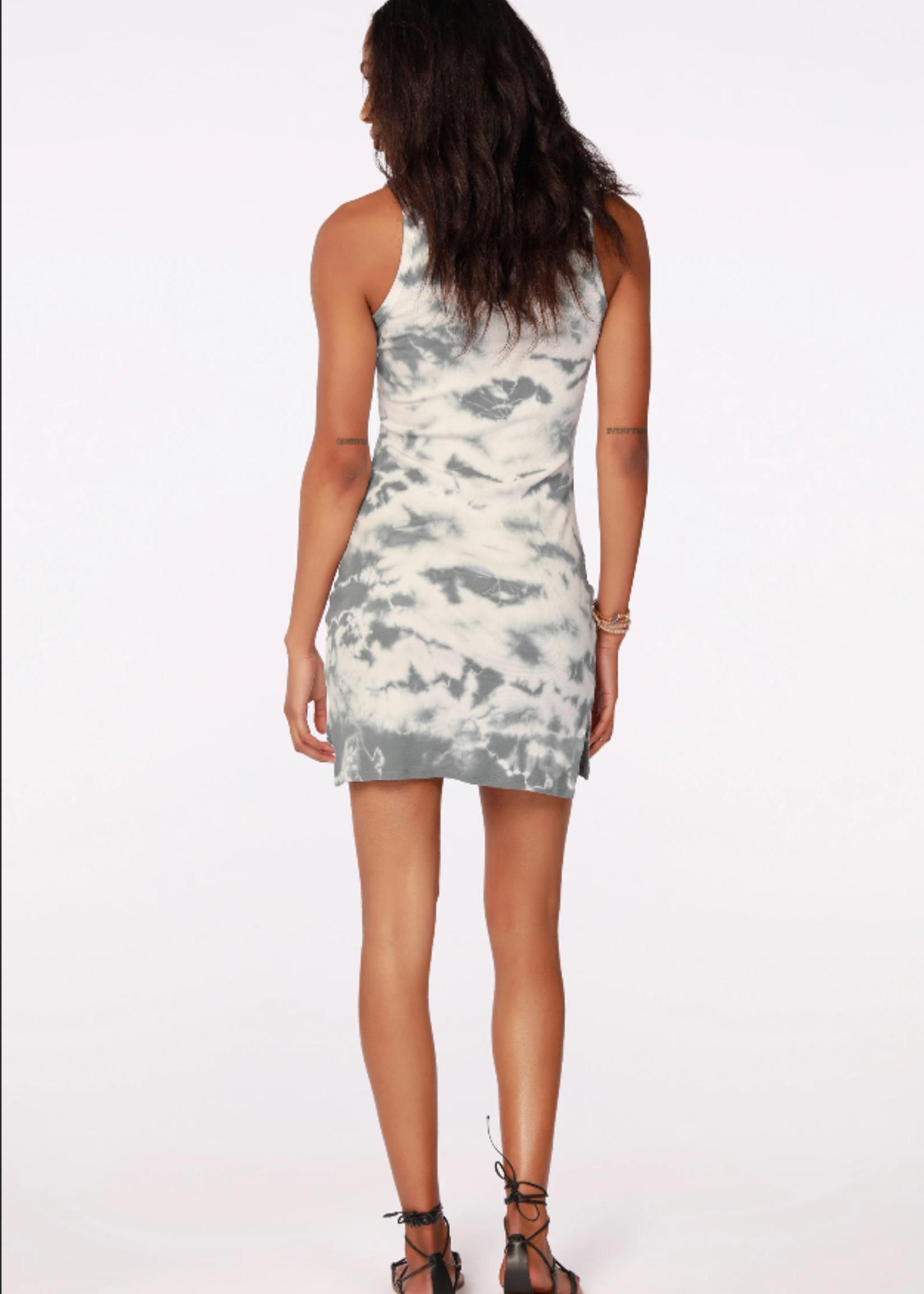Bobi Ribbed Tank Dress - Tie Dye