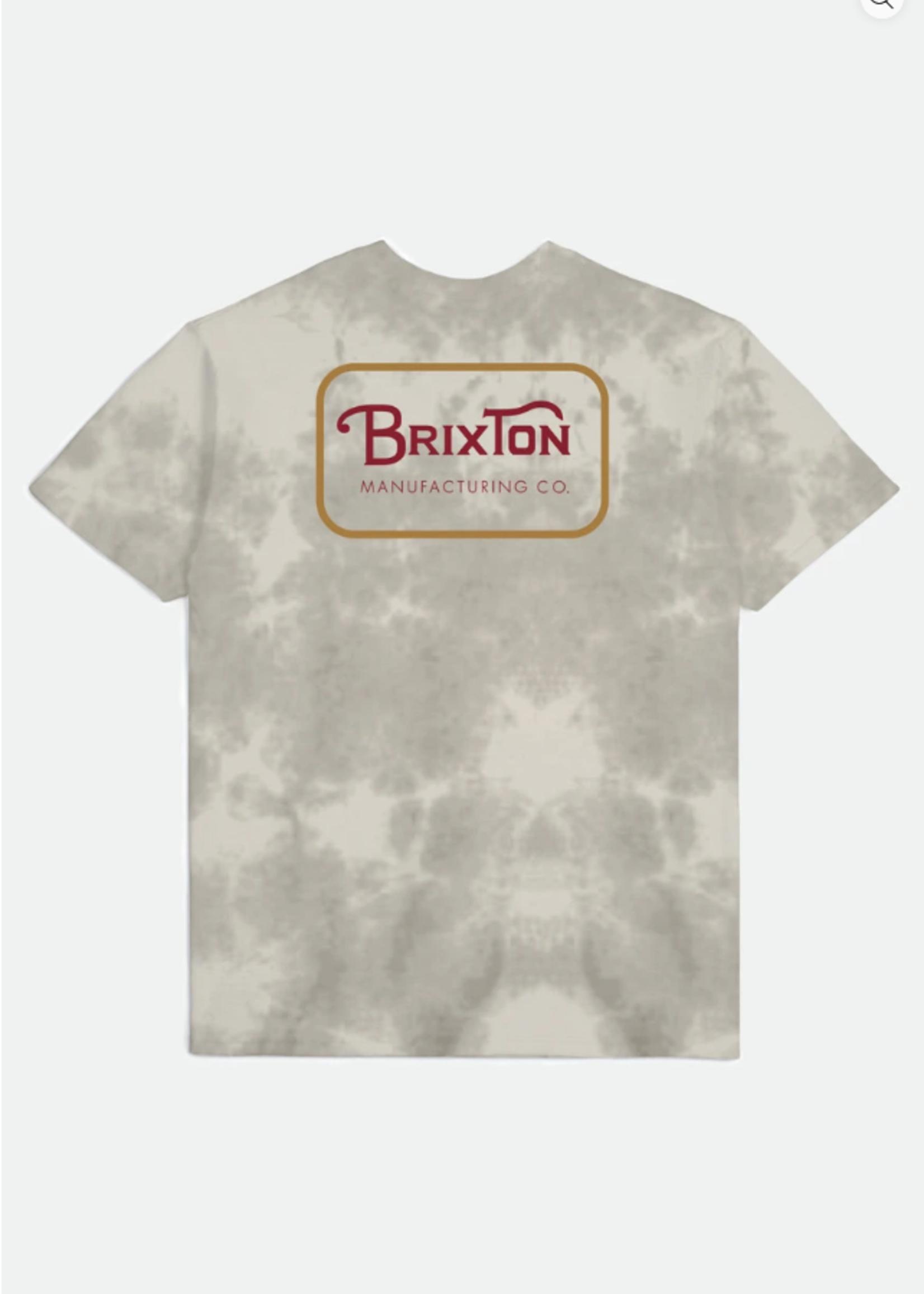 Brixton Grade Short Sleeve - Beige Tie Dye