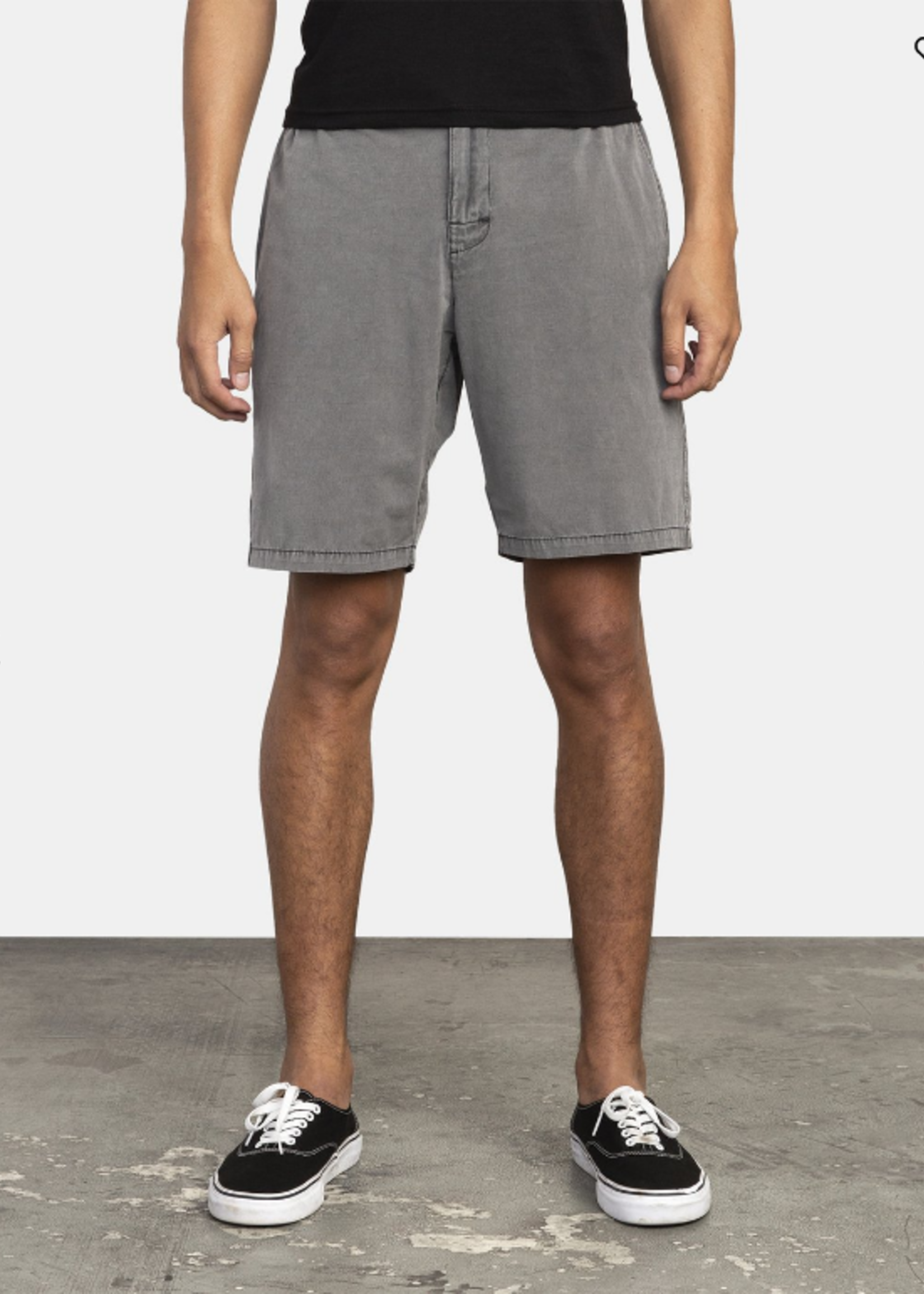 RVCA All time Rinsed Shorts - Pirate Black