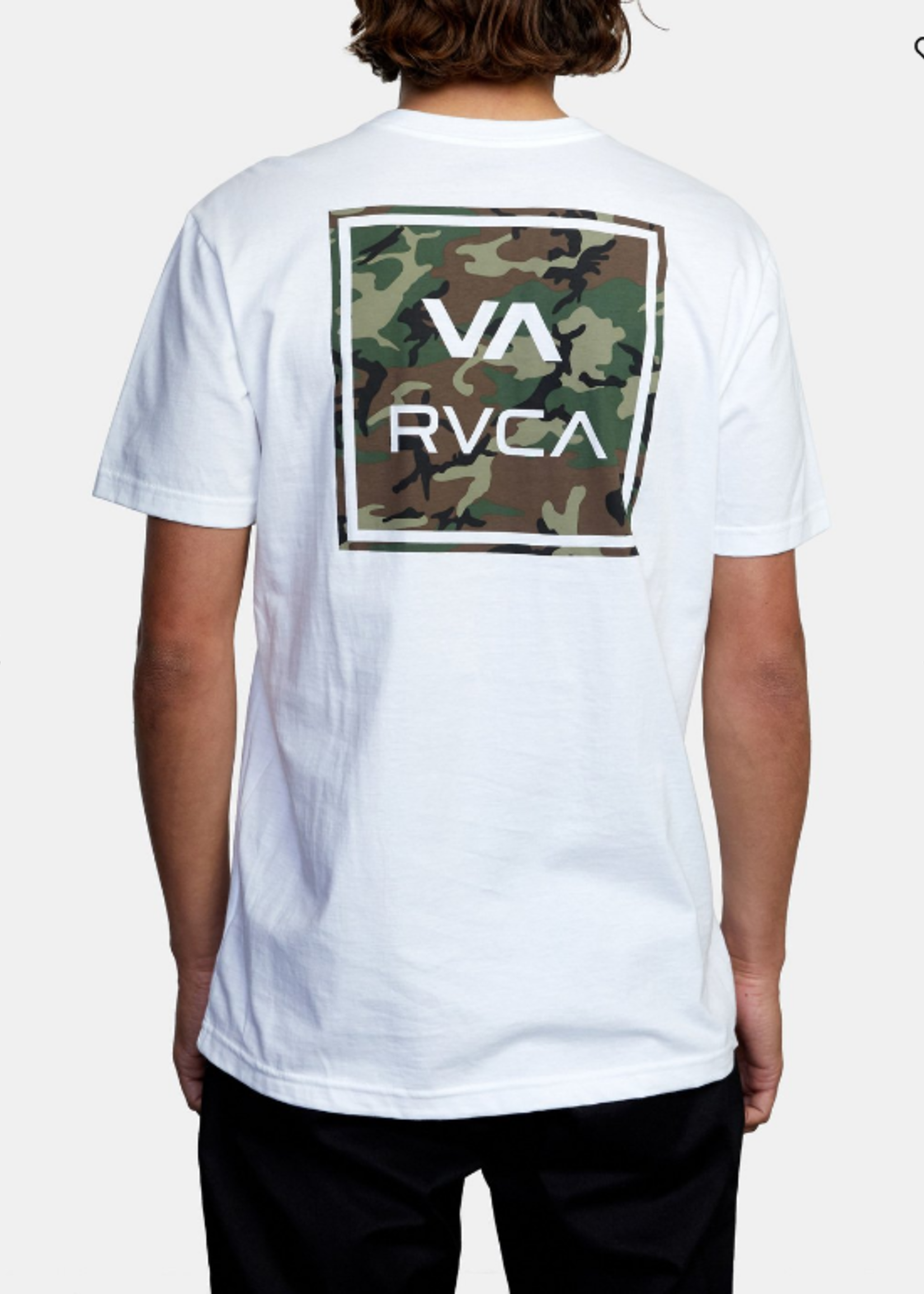 RVCA  All the Way Short Sleeve - White