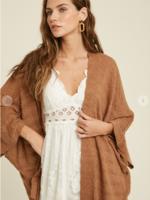 Patterned Kimono Cardigan