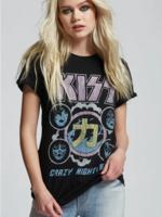 Recycled Karma Kiss Crazy Nights '88 - Black