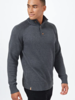 10 Tree Highline Mock Neck Sweater - Dark Heather Grey