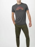 10 Tree Vintage Sunset T-Shirt - Charcoal