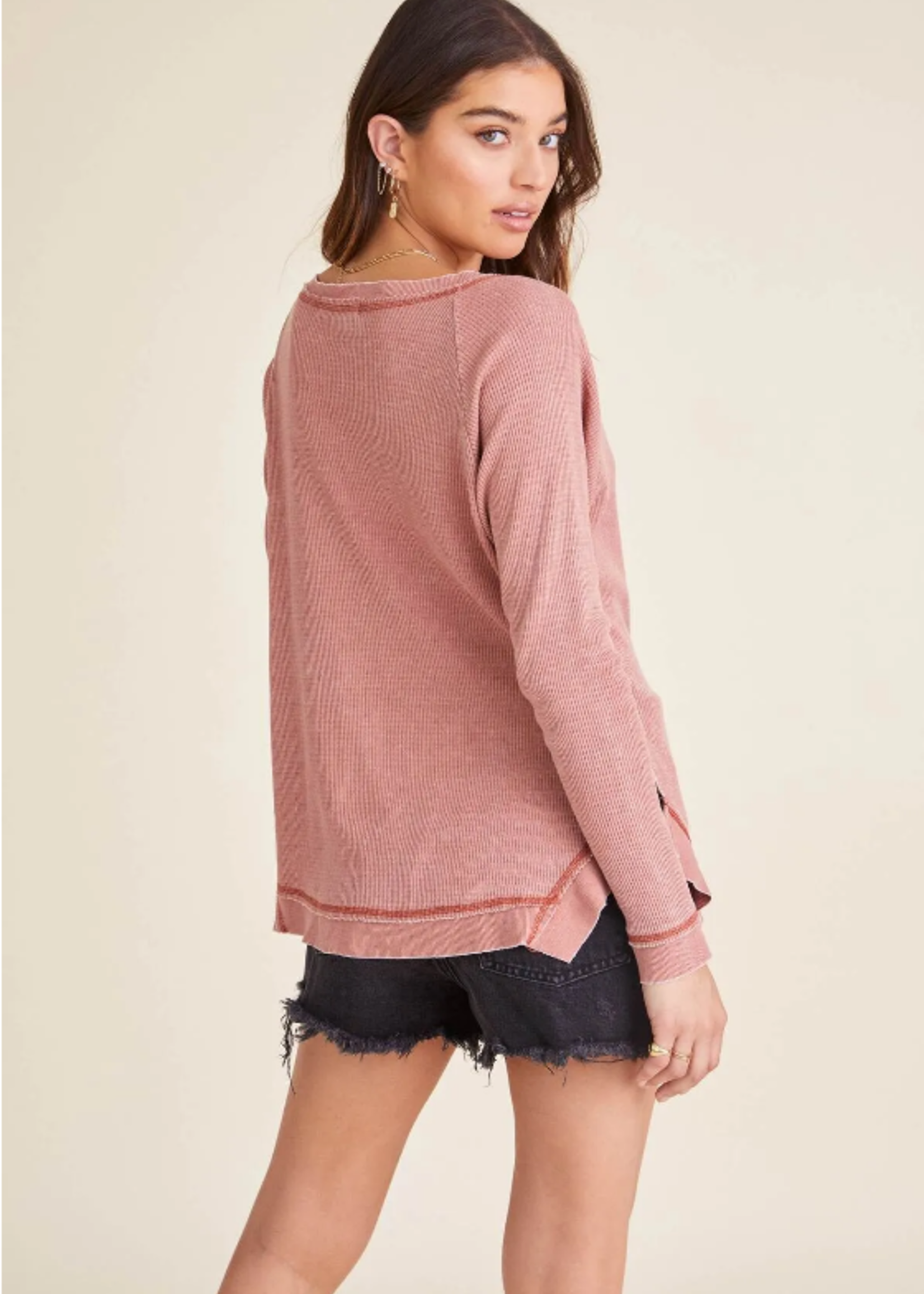 Project Social T  Tanner Burnout Thermal - Ginger