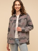 Thread & Supply Rambler Jacket - Grey Aztec