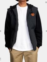 RVCA Grant Puffer Jacket - Black