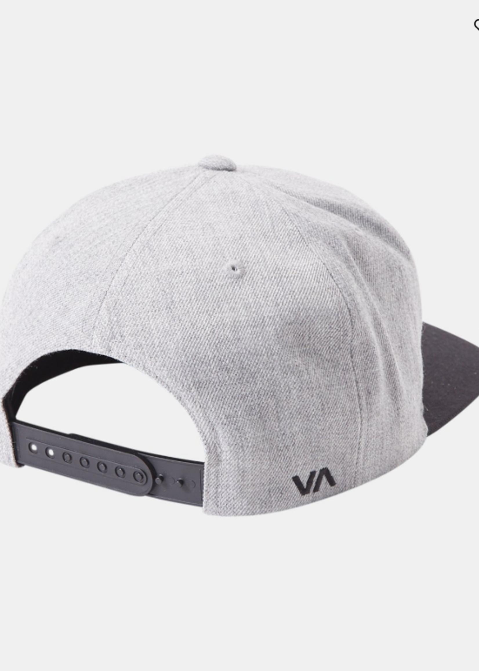 RVCA T Snap II Hat - Heather Grey/Black
