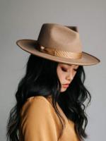 Gigi Pip Monroe Hat - Brown