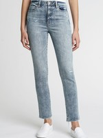 Daze Daily Driver Long  High Rise Skinny Straight - Baby Face
