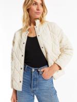 Z Supply Maya Quilted Jacket - Bone