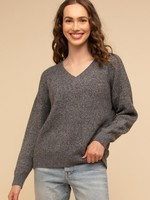 Thread & Supply Maria Sweater - Charcoal