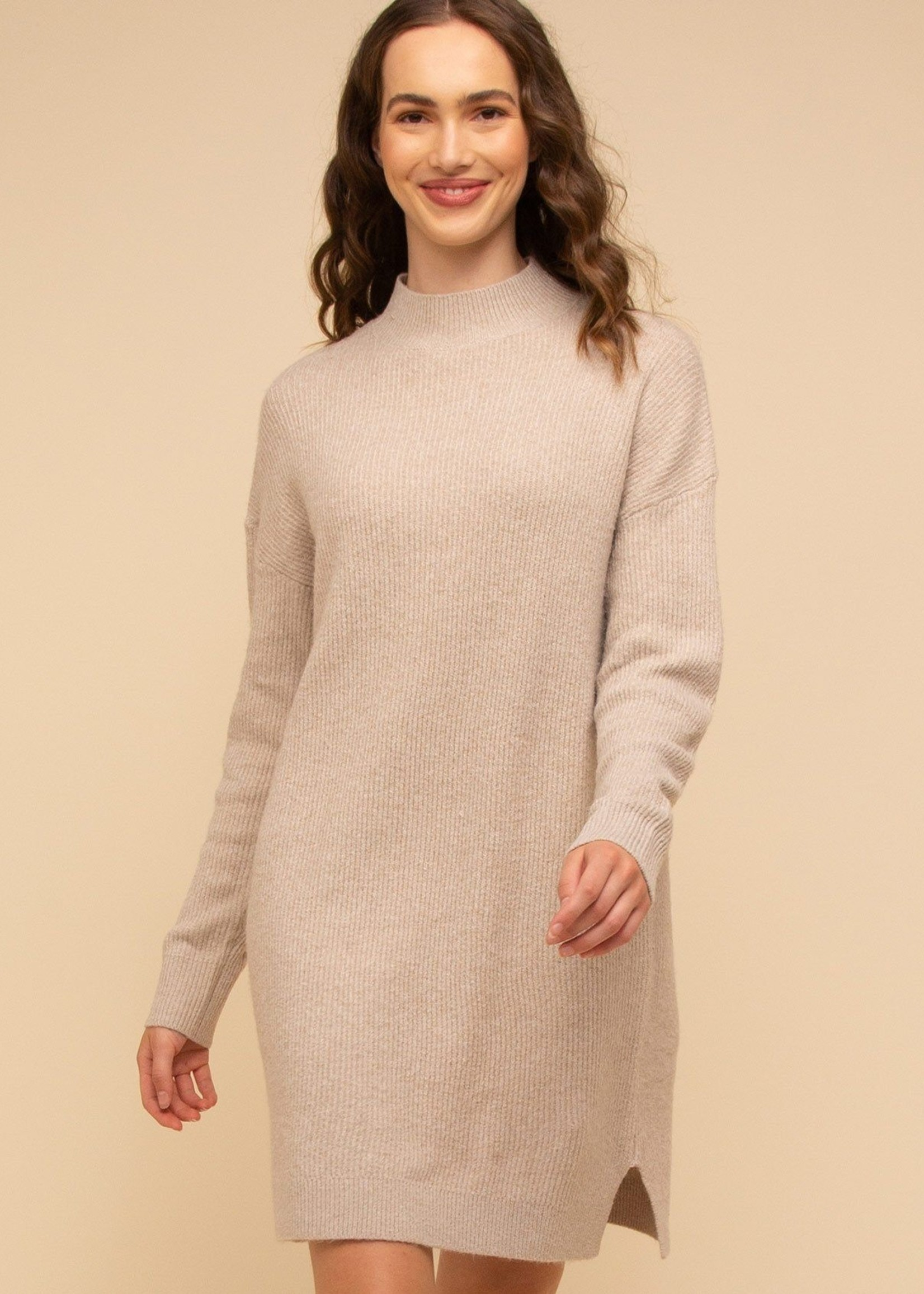Thread & Supply Donnelly Dress - Oatmeal