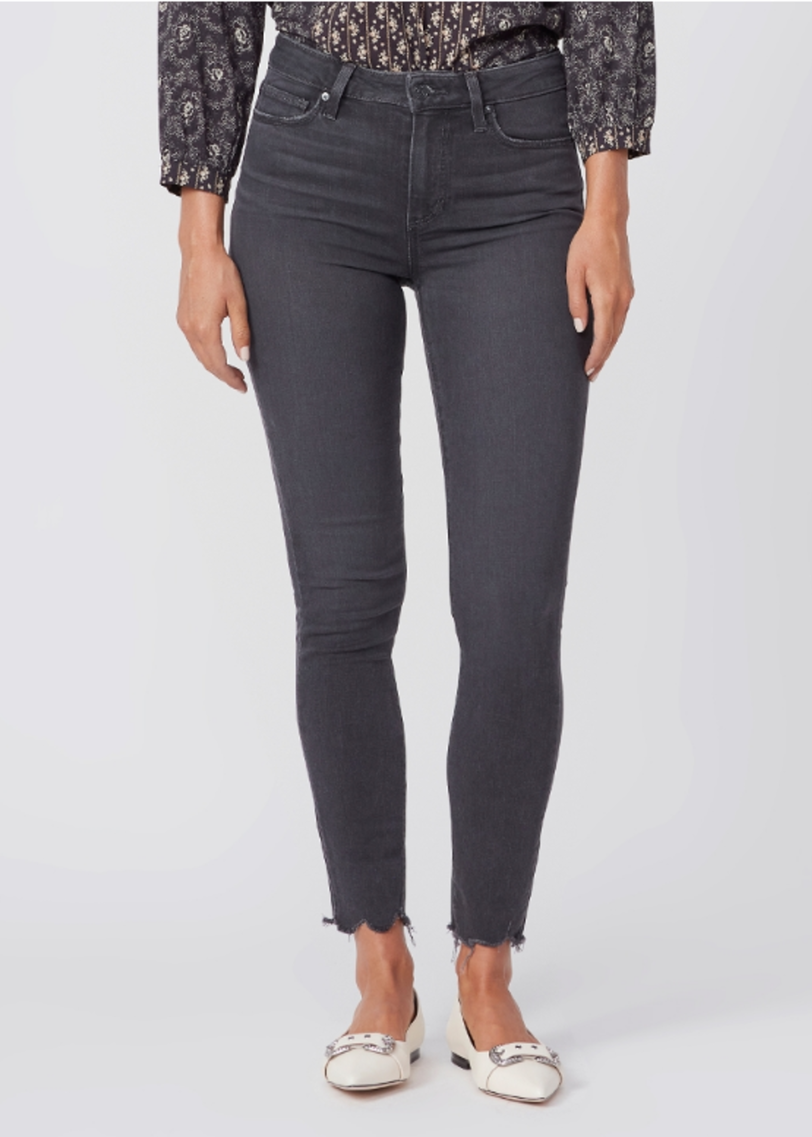 Paige Hoxton Ankle - Smokey Distressed