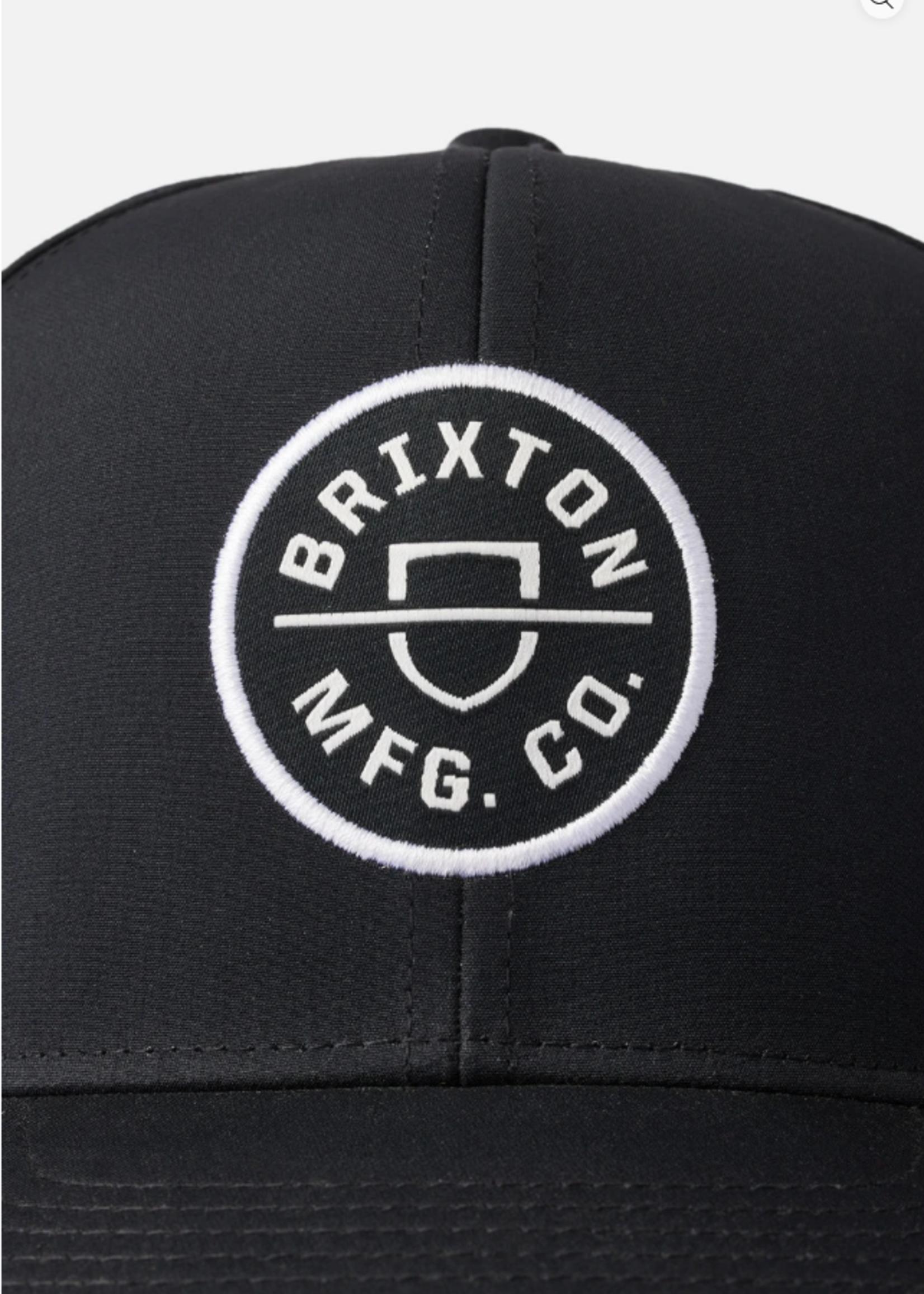 Brixton Crest Snapback - Black