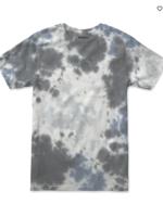 RVCA Bleach Dye Tee - Blue
