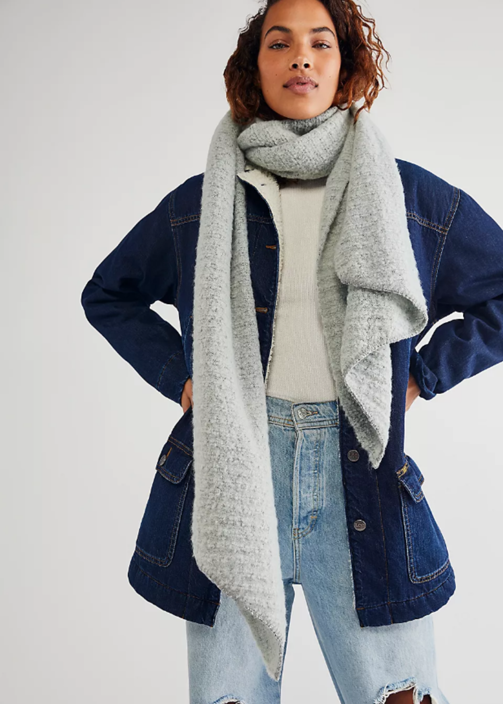 Free People Ripple Recycled Blend Scarf