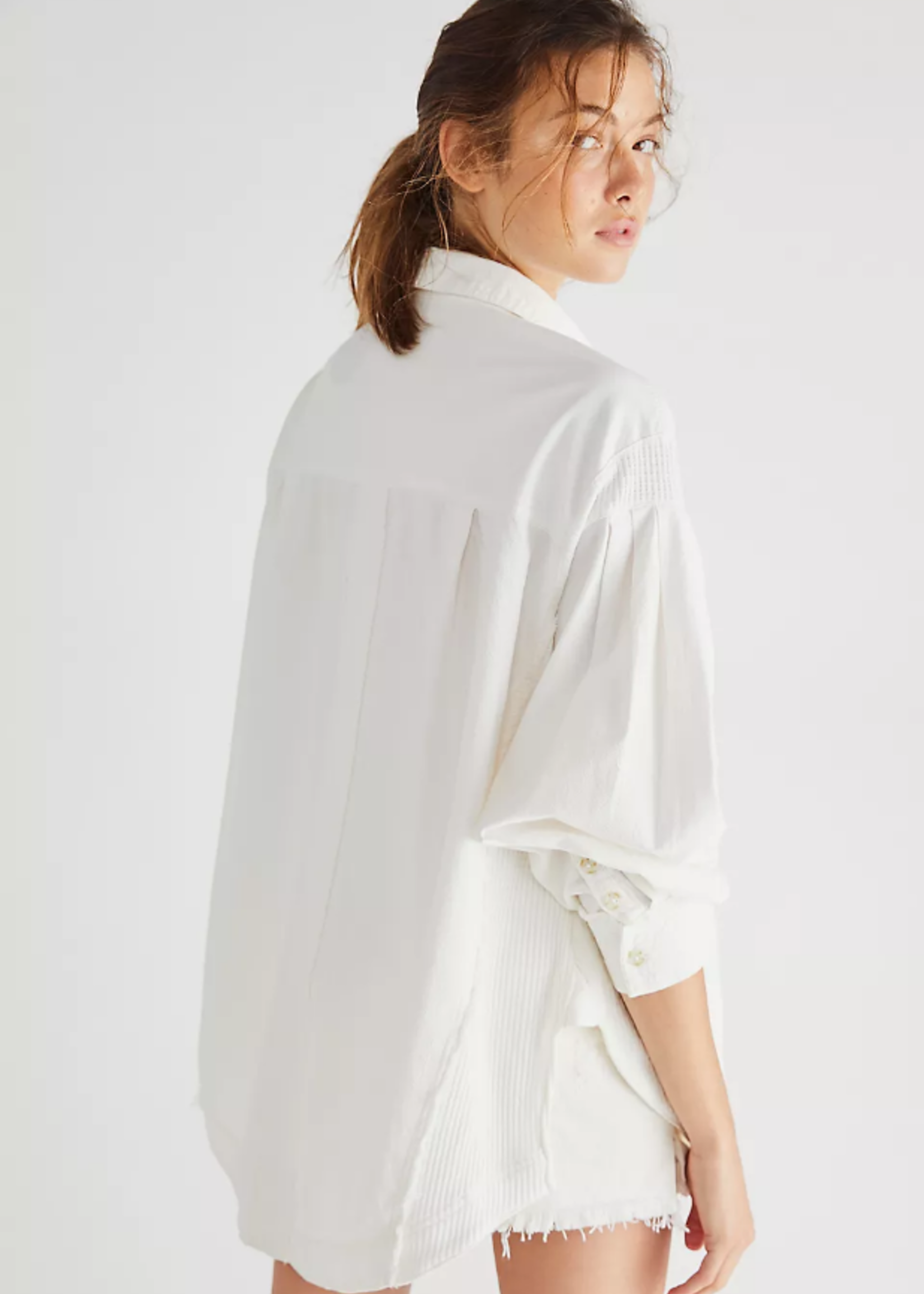 Free People Cool & Clean Button Down