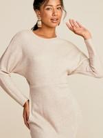 Cutout Knit Dress - Stone