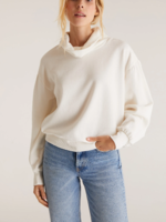 Z Supply Sloan Funnel Collar Pullover - Cloud