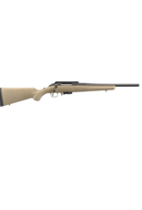 "Ruger RUGER AMERICAN RANCH RIFLE, #16976, 7.62X39, 16"", MATTE BLACK FDE SNYTHETIC, BOLT"