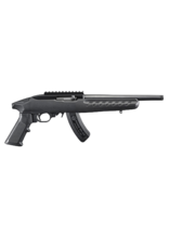 "Ruger RUGER 22 CHARGER, #4923, BLACK SYNTHETIC, 22LR, MATTE BLACK, 10"", 15RD MAG, THREADED BARREL"