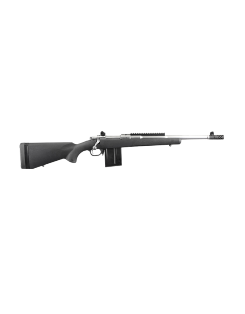"""Ruger RUGER GUNSITE SCOUT COMPOSITE, #6829, .308, STAINLESS, 16"""", COMPOSITE STOCK"""