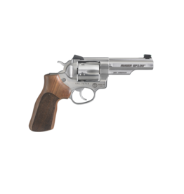 """Ruger RUGER GP100 MATCH CHAMPION, #1754, 357MAG, STAINLESS,4.2"""", 6 SHOT, FIXED SIGHT / FIBER OPTIC FRONT SIGHT"""