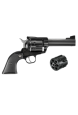 "Ruger RUGER BN-34X, #0308, SINGLE ACTION REVOLVER, 357 MAGNUM / 9MM CONVERTIBLE, 4.62"" BARREL, BLUED"