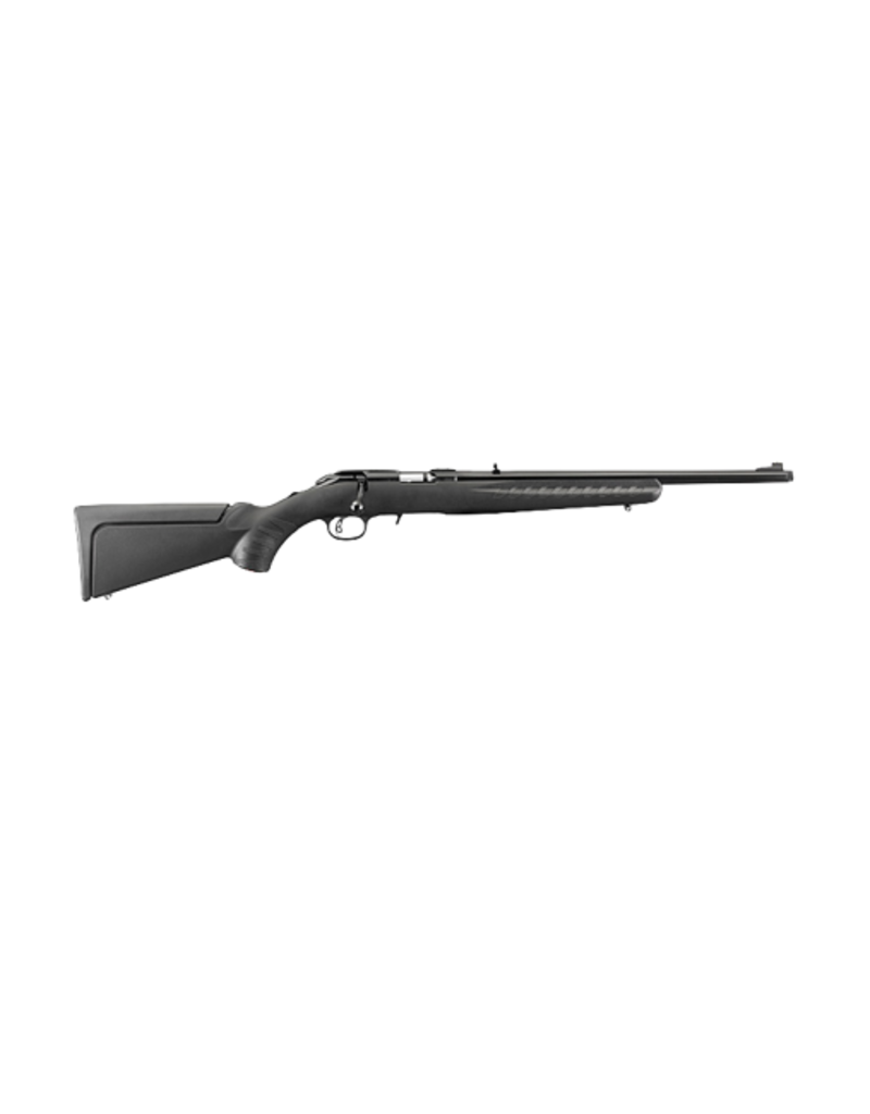 "Ruger RUGER AMERICAN, # 8306, 22LR, 18"" BARREL, BLUE, BLACK COMPOSITE STOCK"