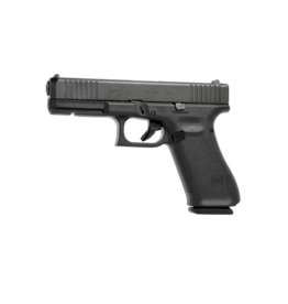 "Glock GLOCK 17 GEN 5, #PA175S202, 9MM,  4.5"", 3 MAGS, FRONT SERRATIONS, FIXED SIGHTS"